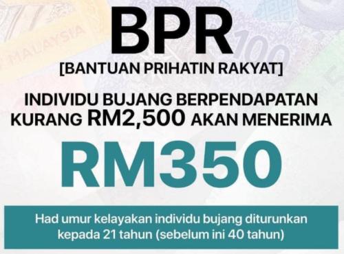 BPR Bujang 2021 : Syarat dan Cara Permohonan